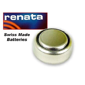 Renata 357 Mercury Free Battery Silver 1.55V - Pack of 10 (SR44W)