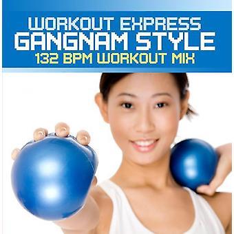 Workout Express - Gangnam Style (132 Bpm Workout Mix) [CD] USA import