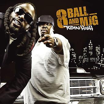 8ball & Mjg - Ridin ' høj [CD] USA importerer