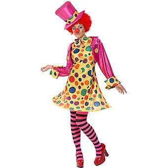 Clownfrau Clownkostüm payaso traje de la señora