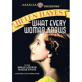 What Every Woman Knows [DVD] USA import