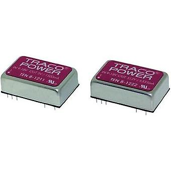 DC/DC converter (print) TracoPower TEN 8 Series 110 Vdc 12 Vdc, -12 Vdc 333 mA 8 W No. of outputs: 2 x