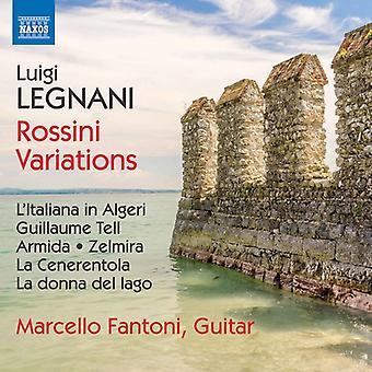 Legnani / Fantoni - Luigi Legnani: Rossini variasjoner [DVD] USA import