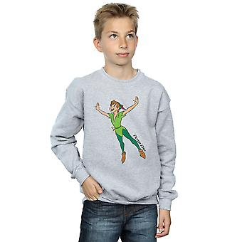 Disney Boys Peter Pan Classic Flying Peter Sweatshirt