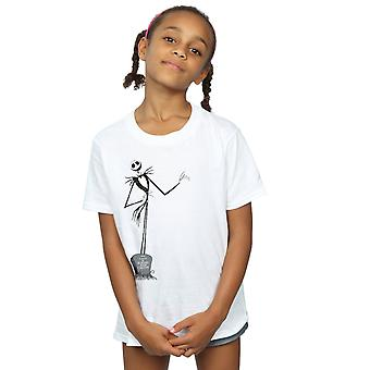 Disney filles Nightmare Before Christmas Jack Pose T-Shirt