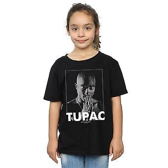 2Pac Girls Tupac Shakur Praying T-Shirt