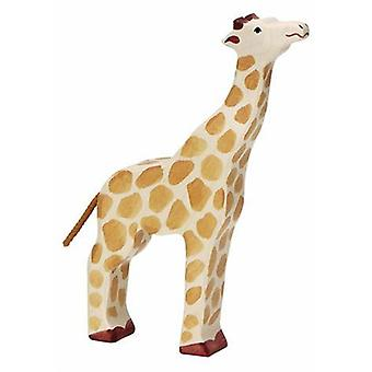 Goki Giraffe, head raised (Toys , Dolls And Accesories , Miniature Toys , Animals)