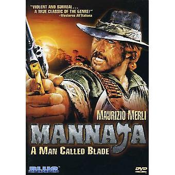 Mannaja: En mand kaldet Blade [DVD] USA importerer