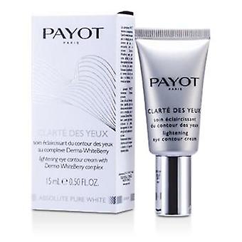 Payot Absolute Pure White Clarte Des Yeux Lightening Eye Contour Cream - 15ml/0.5oz