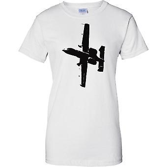 A10 Thunderbolt II-Warzenschwein-Tank Buster - uns Flugzeuge - Damen-T-Shirt