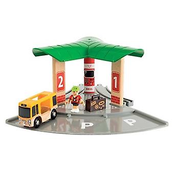 BRIO World Bus and Train Station 33427