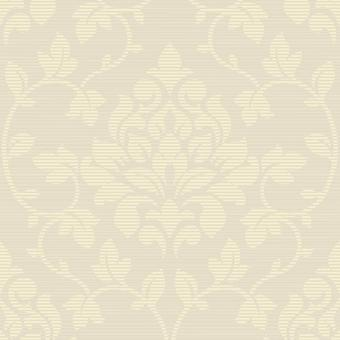 Taupe Damask Glitter Wallpaper Neutral Textured Effect Elite Grandeco Luxury