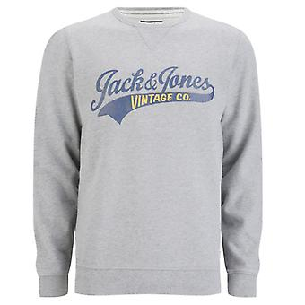 Jack and Jones Access Crew EXP 13 Track & Field Grey Jumper