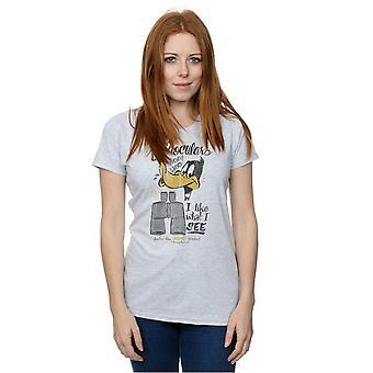 Camiseta de binoculares del Pato Lucas de Looney Tunes mujeres