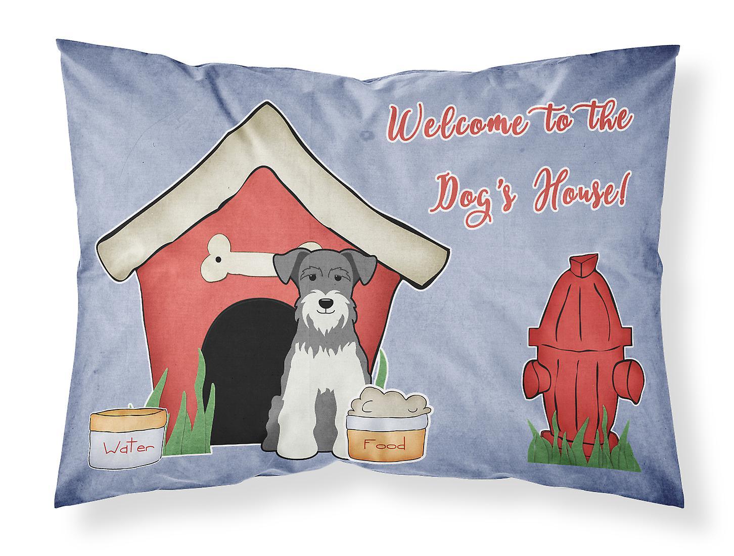 Dog Et Miniature Pillowc Standard Sel House Collection Tissu Poivre Schanuzer NOkZwX0nP8