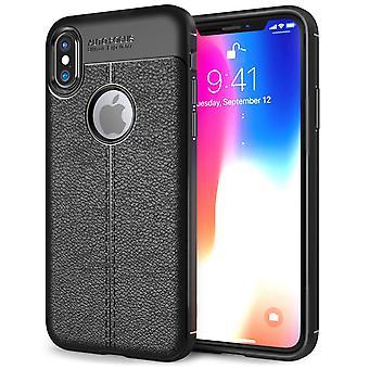 iPhonegeval X Auto Focus Gel - zwart