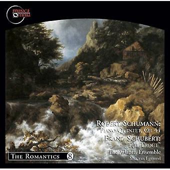 Atlantis Ensemble - Robert Schumann: Klaver kvintet Op. 44; Franz Schubert: The ørred [CD] USA importerer