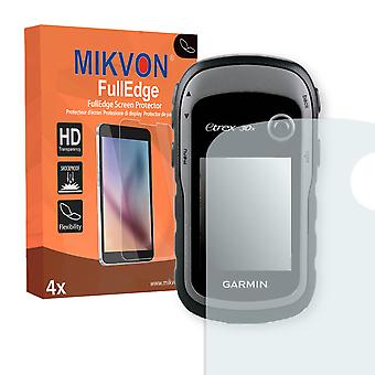 Garmin eTrex 30x screen protector - Mikvon FullEdge (screen protector with full protection and custom fit for the curved display)