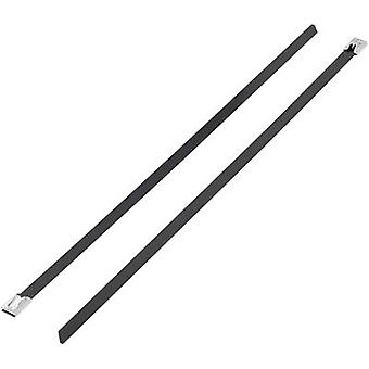 Cable tie 521 mm Black Coated KSS 1091255