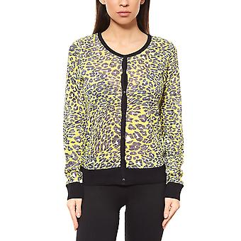 Rick cardona by heine knitted jacket ladies Cardigan yellow