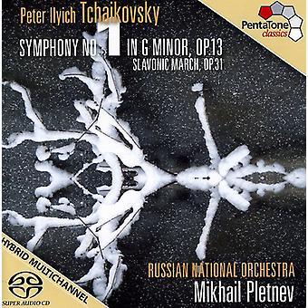 P.I. Tchaikovsky - Tchaikovsky: Symphony No. 1; Slavonic March [SACD] USA import