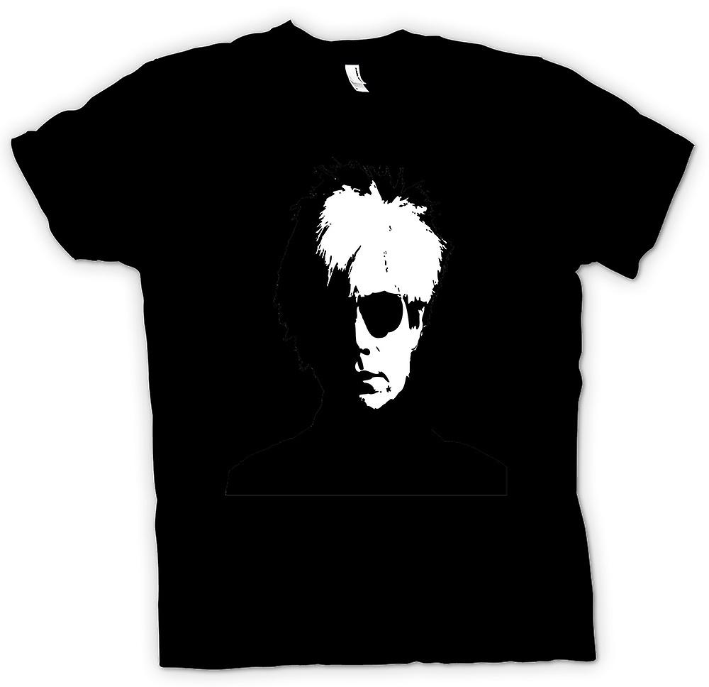Womens T-shirt - Andy Warhol - BW - Pop Art