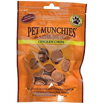 Pet Munchies Dog Treat Chicken Chips 100 g (Pack of 8)