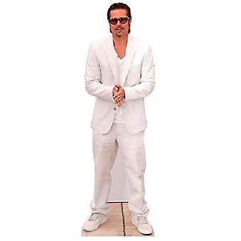 Brad Pitt Cardboard Cutout
