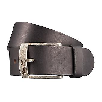 WRANGLER belt leather belts men's belts black 2885