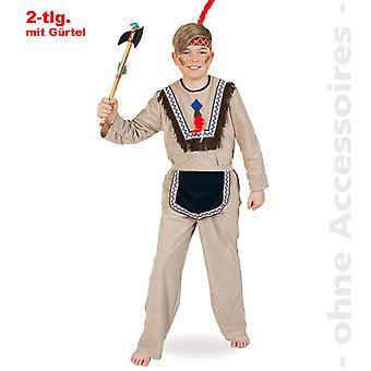 Native American costume child kids Mohicans Apache child costume