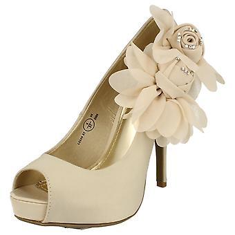 Ladies Anne Michelle Elegant Occasion Shoes L2229