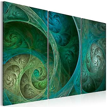 Canvas Print - Turquoise oriental inspiration