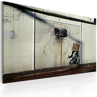 Lærred Udskriv - robotter (Banksy)