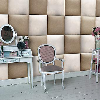 Wallpaper - Leather cushions