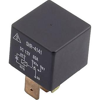 Automotive relay 24 Vdc 80 A 1 change-over SHR-41