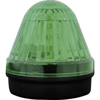 Lys LED ComPro Blitzleuchte BL50 15F grønne Non-stop lys signal, Flash, Emergency lys 24 Vdc, 24 V AC