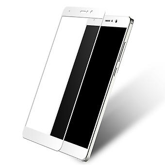 Xiaomi MI 5c 3D armoured glass foil display 9 H protective film covers case white