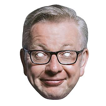 Michael Gove Politician 2D Card Party Face Mask