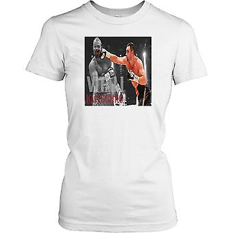 Vitali Volodymyrovych Klitschko - Dr. Ironfist - boksing damer T skjorte