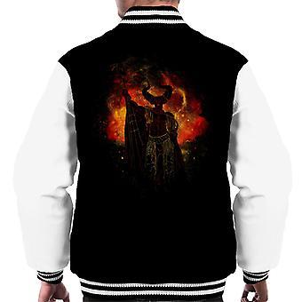 Lord av mørket silhuett legenden menn Varsity jakke
