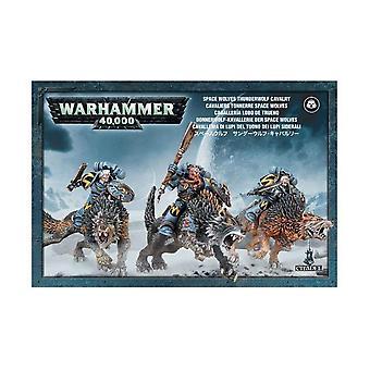 Games Workshop Warhammer 40.000 Space Wolves Donner Wolf Kavallerie-Action-Figur