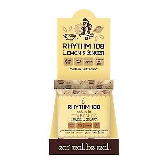 Rhythmus 108 Gluten freie Zitrone und Ingwer Teegebäck