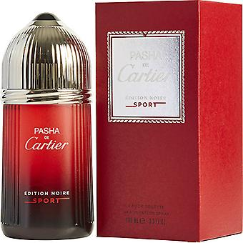 Cartier Pasha De Cartier Edition Noire Sport Eau De Toilette Spray 100ml/3.3oz
