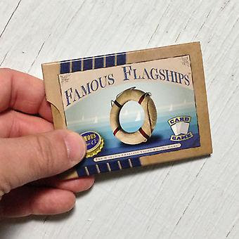 Famous Flagships yacht racing card game