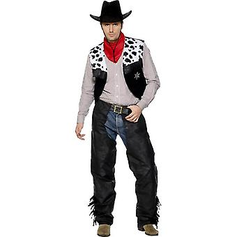 Cowboy Leather Costume, Chest 42