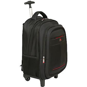 City Tasche Hybrid Notebook Trolley Rädern Rollen 15,4