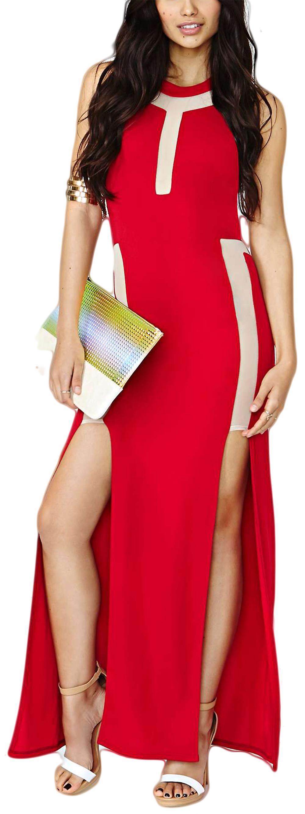 Waooh - long dress slit Tenee