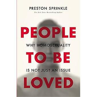 Folk til å bli elsket - hvorfor homoseksualitet er ikke bare et problem av Preston