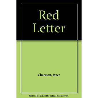 Red Letter by Janet Charman - 9781869400712 Book