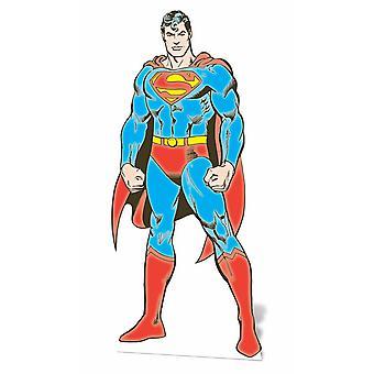 Superman Lifesize Cardboard Cutout / Standee - Classic DC Comics Style